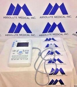 Sonosite 180 Plus Hand Carried Ultrasound System W Probe Biomed Certified