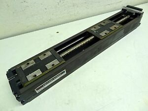 Thk Lm Guide Linear Stage Actuator Nice Condition see Pictures