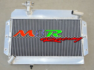 Alloy Radiator Fits For Rover Mg Mga 1500 1600 1622 De Luxe