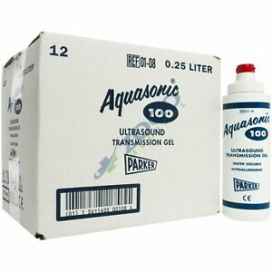 Aquasonic 100 Ultrasound Gel 8 5 Ounce Tube Box Of 12