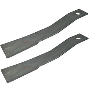 2 Bush Hog Blades 7556 7556bh For Bh26 Sq172 Sq72 4 Sq720 206 256 1206 1256