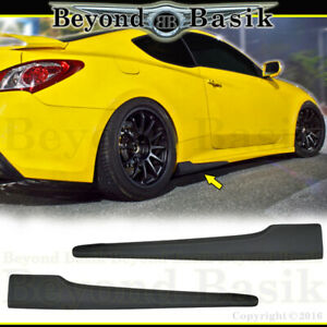 For 2010 2016 Hyundai Genesis Coupe 2pc Nefd Style Aero Side Skirts Body Kit