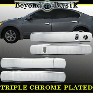 For 2007 2012 Nissan Altima 05 18 Frontier Chrome Door Handle Covers W Smrt Kh
