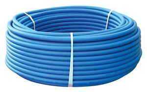1 X 100ft Blue Pex Tubing pipe Pex b 1 inch 100ft Potable Water Non Barrier
