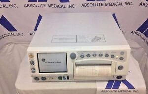 Ge Corometrics 250 Series Maternal fetal Monitor Biomed Certified Box Only