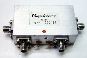 Giga tronics M184 Rf Switch