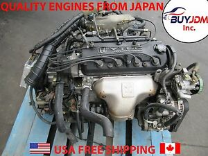 98 02 Honda Accord Engine Accord 2 3l At 2 3l Engine At Transmission F23a