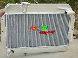56mm Alloy Aluminum Radiator Rover Mg Mga 1500 1600 1622 De Luxe 2row New