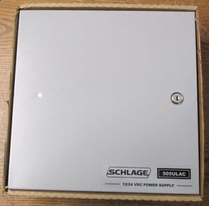 New Nos Schlage 505ulac Power Supply 1 Amp 12 24 Volts D c 505ulacxklc