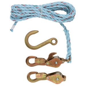 New Klein Tools 180230 Block And Tackle 258 Anchor Hook