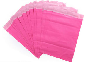 50 100pcs Pink Poly Mailers Shipping Envelopes Self Sealing Plastic Mailing Bags
