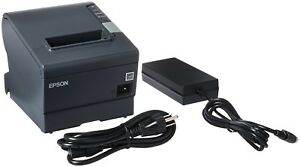 Epson Tm t88v Usb Serial Thermal Receipt Printer W power Supply m244a