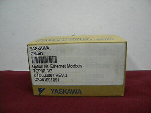 Yaskawa Electric Cm091 Option Kit Ethernet Modbus Rev 3