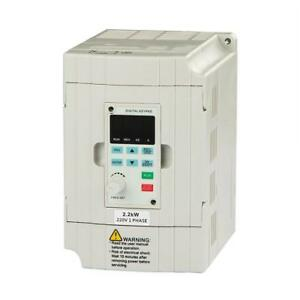 Lapond Vfd Drive Inverter Professional Variable Frequency 2 2kw 3hp 220v 10a