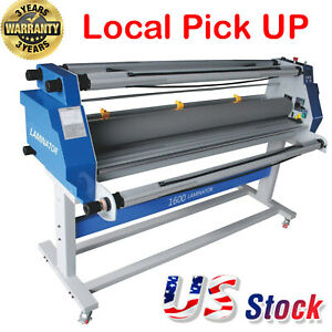 Enhanced 60 full Auto Cold Roll Laminator Heat Assisted Seal Machine Wide Format