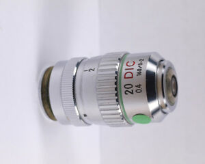 Nikon 20x 40 Dic Nomarski With Rare Collar 160mm Tl Microscope Objective