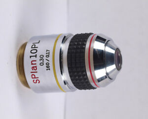 Olympus Splan 10x Pl Phase Low Contrast Microscope Objective