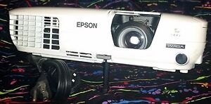 Epson H327a Lcd Projector Works Great Power Lite W7