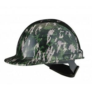 Dynamic Safety Hard Hat Helmet Camo Camouflage Casque De Construction