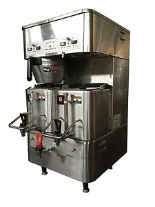 Grindmaster P400est Gallon Twin Shuttle Coffee Brewer
