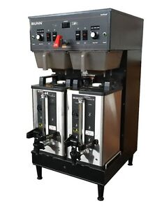 Bunn Dual Coffee Brewer W Soft Heat Servers