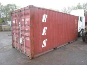 20 Steel Ground Level Storage shipping Containers