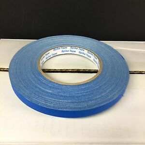 Full Case 24 Rolls Pro Spike Tape 1 2 X 50 Yd Electric Blue Pg1 2 elbl