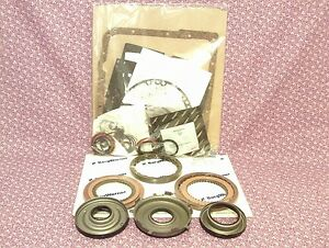 Gm 4l60e 4l65e Transmission Rebuild Kit W Frictions Rubber Pistons 1993 2003