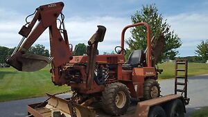 Ditch Witch 3500 Trencher Backhoe