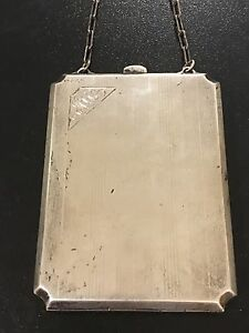 Antique Sterling Silver Coin Purse 1920 S