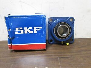 Skf Four Bolt Flange Mount Ball Bearing 1 75 Bore 44 45 Mm Fy 1 3 4 Rm Italy