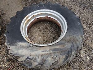 Farmall Wd6 Tractor 14 30 Tire And Rim