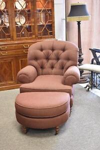 Occasional Chair Ottoman By Sherrill Furniture Model 1730 1731