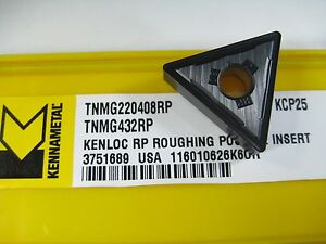 Factory Pack Kennametal Tnmg432rp Tnmg220408rp Carbide Inserts Lathe Tools