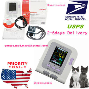 Usa contec08a Digital Veterinary Blood Pressure Monitor pc Software nibp Monitor