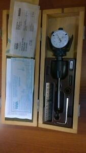 Tesa Veribor 4 5 6 Mm Dial Bore Gage Gauge 0 01mm Innenme ger t Nos New