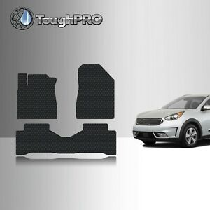 Toughpro Gray Rubber Heavy Duty Custom Floor Mats For 2004 2010 Sienna 7 Seater