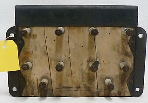 1915 18 Model T Ford Coil Box With Lid Key 4 Ford Script Brass Top Coils
