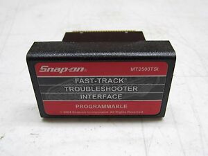 Snap On Mt2500tsi Communication Troubleshooter Interface Mt2500 8d3