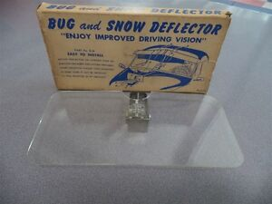 Vintage Nors Accessory Bug Snow Deflector Mfg By Akron Specialty