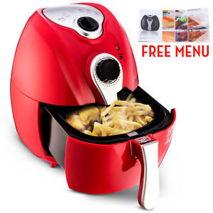 Multifunction Air Fryer Electric No Oil Programmable Timer Temperature Control