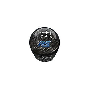 Oem New 2013 2018 Ford Focus Rs Black Carbon Fiber 6 Speed Shift Knob Blue