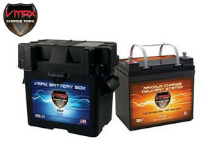 Vmax V35 857 U1 Battery Box Agm Deep Cycle 12v 35ah Battery For Pv Solar Panel