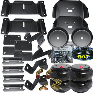 Air Helper Spring Kit 2017 2018 Ford Super Duty Over Load Level F250 F350 F450