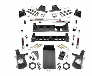 Chevy Gm Ntd 99 06 1500 6 Suspension Lift Kit For Silverado Sierra 4wd Truck