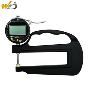0 001 Mm Digital Micron Thickness Gauge Paper Leather Rubber Thickness Gauge