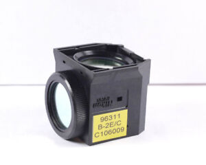 Nikon B 2e c Fluorescent Microscope Filter Cube For Eclipse Series