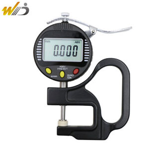 Digital Thickness Gauge 0 001 Mm Micron Thickness Gauge Measure For Glass paper