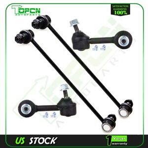 4 Pcs Front Rear Suspension Stabilizer Sway Bar End Link For 07 16 Honda Cr V
