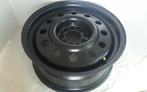 Cragar Unique Series 83 Black Matte Steel Wheel 16 X 6 5 5 X 4 25 4 5